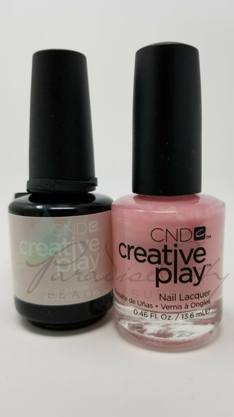 CND Creative Play Matching Gel Polish & Nail Lacquer - #491 Candycade