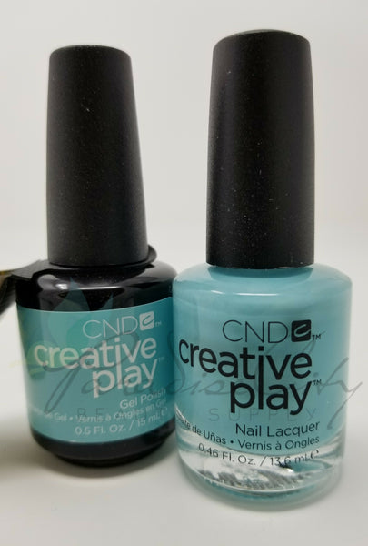 CND Creative Play Matching Gel Polish & Nail Lacquer - #492 Amuse-Mint