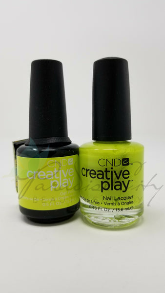 CND Creative Play Matching Gel Polish & Nail Lacquer - #494 Carou-Celery
