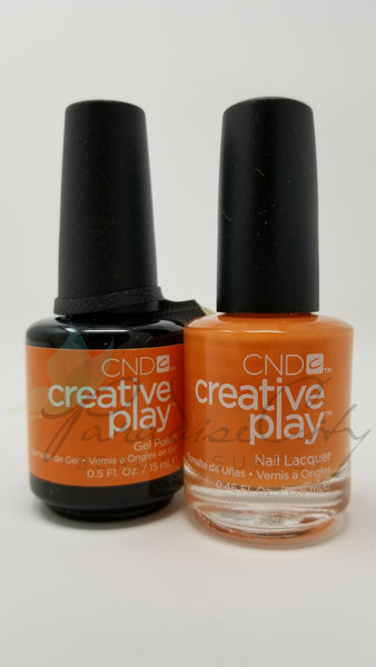 CND Creative Play Matching Gel Polish & Nail Lacquer - #495 Hold On Bright!