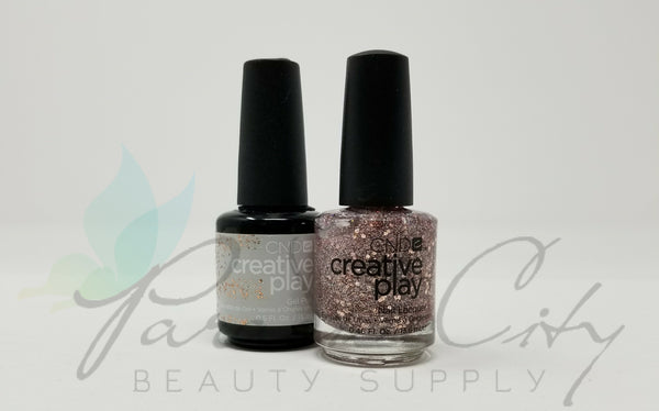 CND Creative Play Matching Gel Polish & Nail Lacquer - #497 Look No Hands