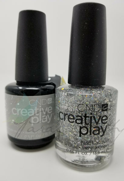 CND Creative Play Matching Gel Polish & Nail Lacquer - #498 Bling Toss