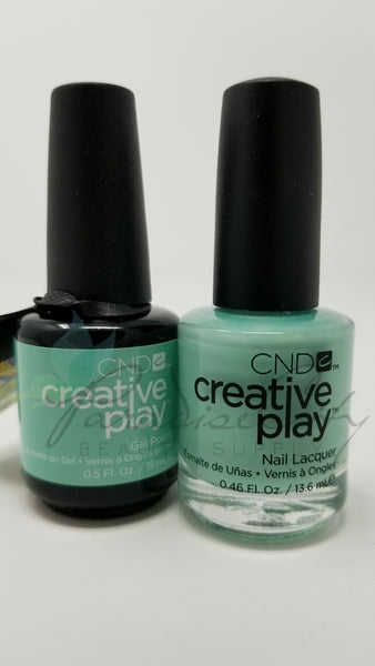 CND Creative Play Matching Gel Polish & Nail Lacquer - #501 Shady Palms
