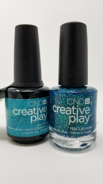 CND Creative Play Matching Gel Polish & Nail Lacquer - #502 Express Ur Em-Oceans