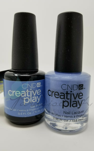 CND Creative Play Matching Gel Polish & Nail Lacquer - #504 Skymazing