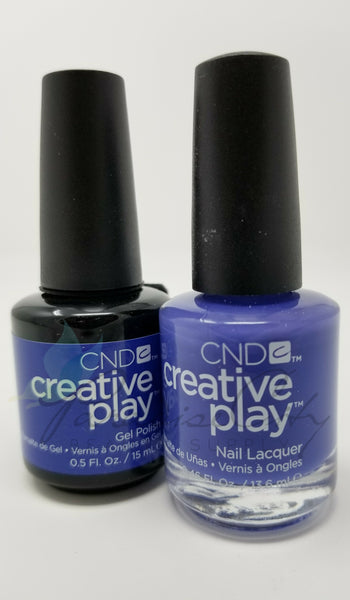 CND Creative Play Matching Gel Polish & Nail Lacquer - #506 Party Royality