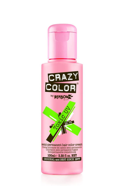 Crazy Color by Renbow Semi-Permanent Hair Color Cream 5.07 oz