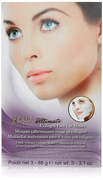 Satin Smooth Ultimate Face Lift Collagen Mask