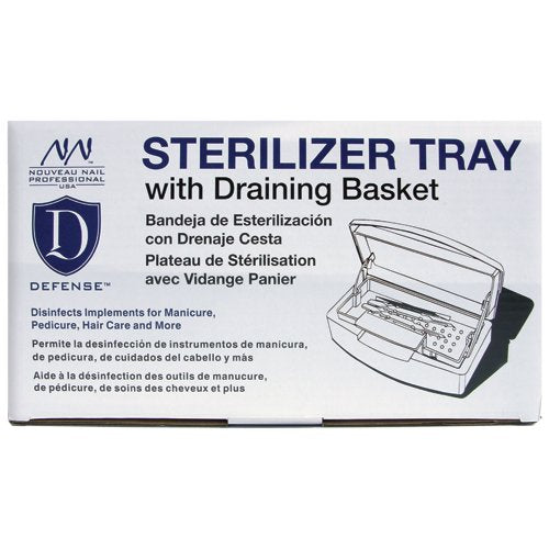 Nouveau Nail Defense Sterilizer Tray