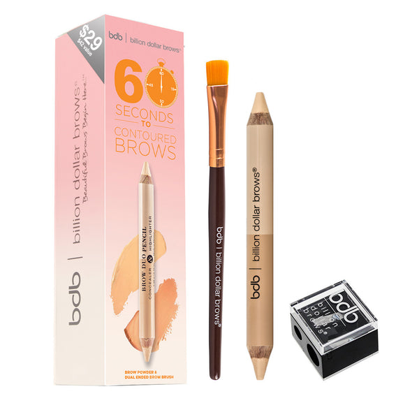 Billion Dollar Brows - 60 Seconds to Contoured Brows Kit