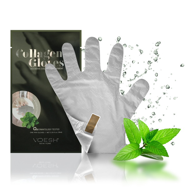 VOESH NEW YORK Collagen Gloves - Phyoto-Collagen Gloves Enriched w/ Herb Extract