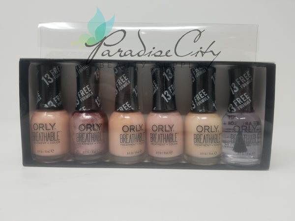 Orly Breathable 6 Piece Set Nail Laquer