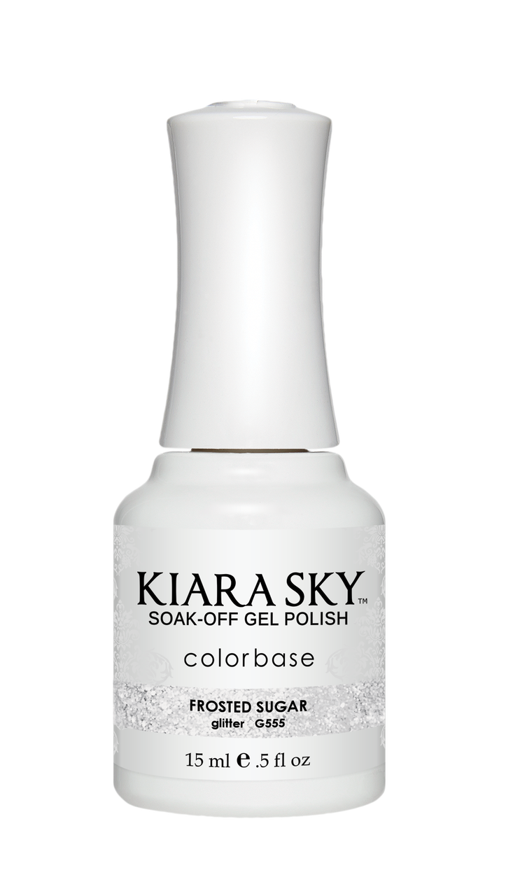 Kiara Sky Gel Polish - G555 FROSTED SUGAR KS GEL POLISH