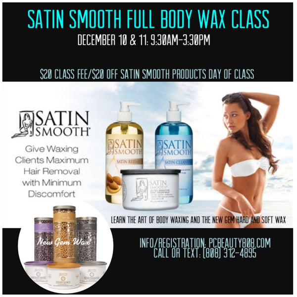 Satin Smooth Full Body Wax Class