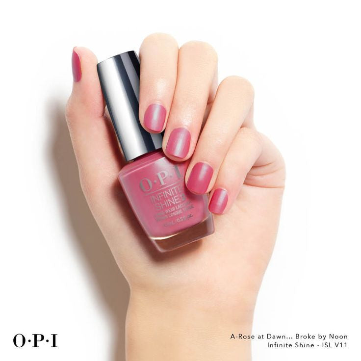 OPI Infinite Shine - A-Rose at Dawn...Broke by Noon ISL V11
