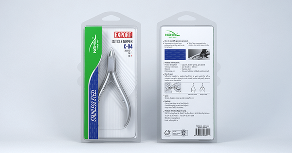 Nghia Stainless Steel Cuticle Nipper - C-04 Jaw 16