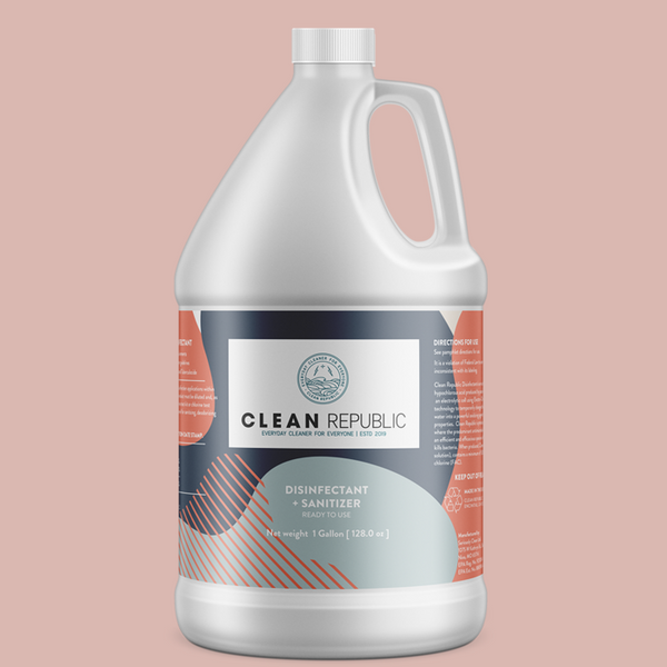 Clean Republic Disinfectant+ Sanitizer (1 gal/ Ready to Use) IN STORE PURCHASE ONLY