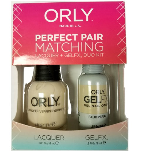 Orly Perfect Pair Matching - Faux Pearl