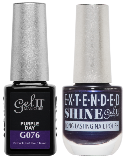 La Palm - ES076 Purple Day Gel II LONG LASTING NAIL POLISH