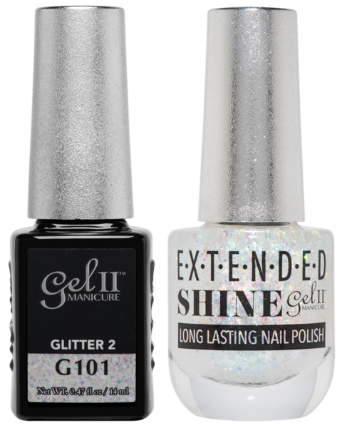 La Palm - ES101 Glitter 2 Gel II LONG LASTING NAIL POLISH