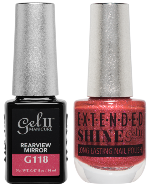 La Palm - ES118 REARVIEW MIRROR Gel II LONG LASTING NAIL POLISH
