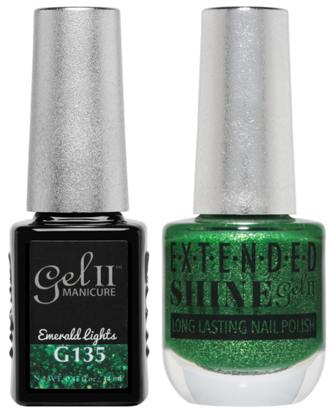 La Palm - ES135 Emerald Lights Gel II LONG LASTING NAIL POLISH