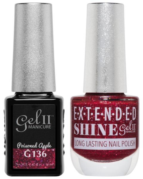 La Palm - ES136 Poisoned Apple Gel II LONG LASTING NAIL POLISH
