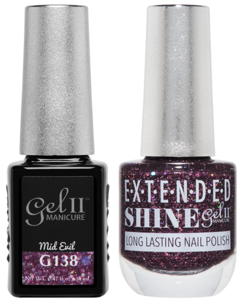 La Palm - ES138 Mid Evil Gel II LONG LASTING NAIL POLISH