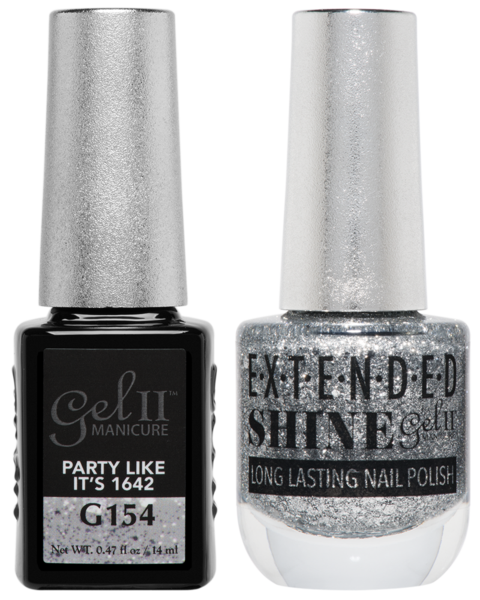La Palm - ES154 Party Like It's 1642 Gel II LONG LASTING NAIL POLISH
