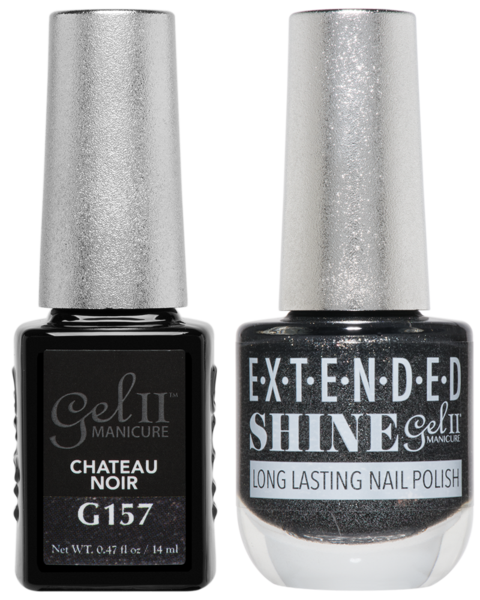 La Palm - ES157 Chateau Noir Gel II LONG LASTING NAIL POLISH