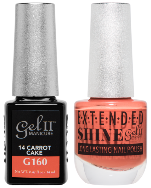 La Palm - ES160 Carrot Cake Gel II LONG LASTING NAIL POLISH