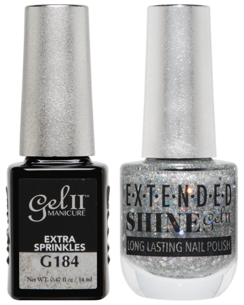 La Palm - ES184 Extra Sprinkles Gel II LONG LASTING NAIL POLISH