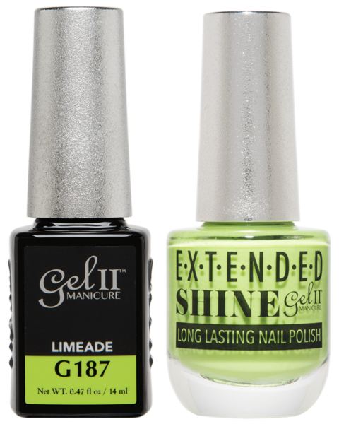 La Palm - ES187 Limeade Gel II LONG LASTING NAIL POLISH