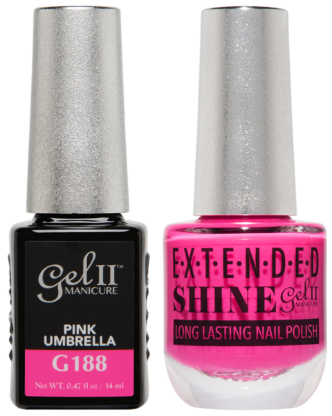 La Palm - ES188 Pink Umbrella Gel II LONG LASTING NAIL POLISH