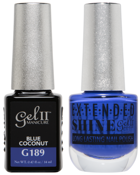 La Palm - ES189 Blue Coconut Gel II LONG LASTING NAIL POLISH