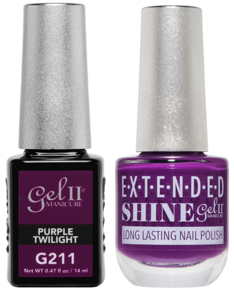 La Palm - G211 Purple Twilight Gel II Gel Polish