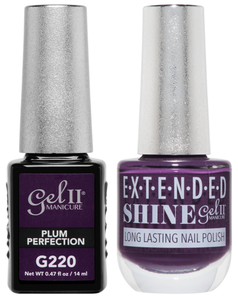 La Palm - ES220 Plum Perfection Gel II LONG LASTING NAIL POLISH