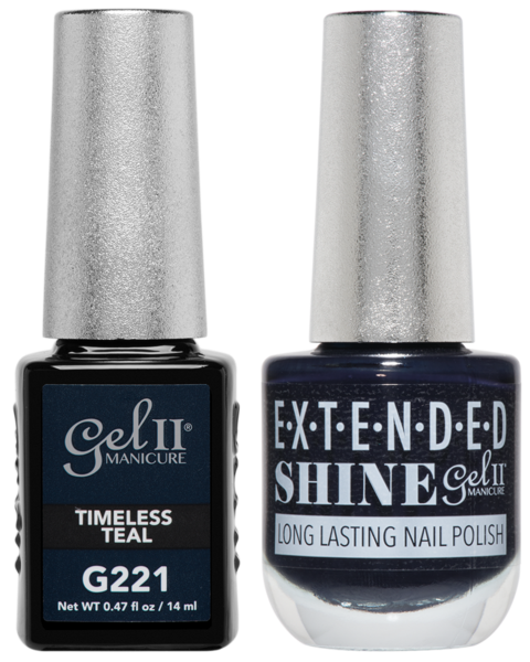 La Palm - ES221 Timeless Teal Gel II LONG LASTING NAIL POLISH