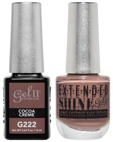 La Palm - ES222 Cocoa Creme Gel II LONG LASTING NAIL POLISH