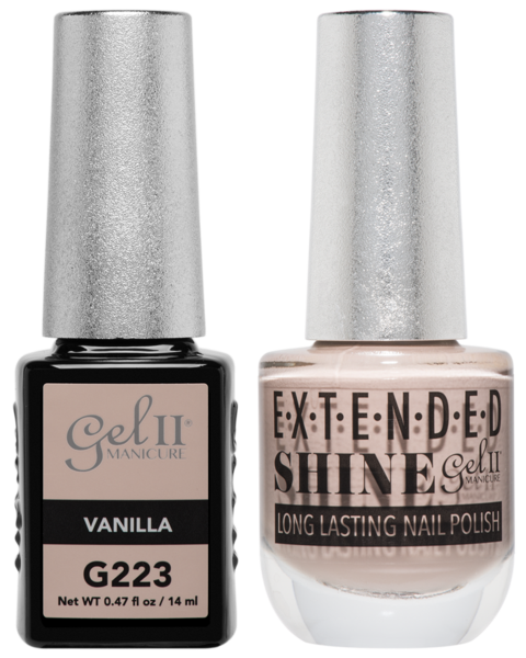 La Palm - ES223 Vanilla Gel II LONG LASTING NAIL POLISH