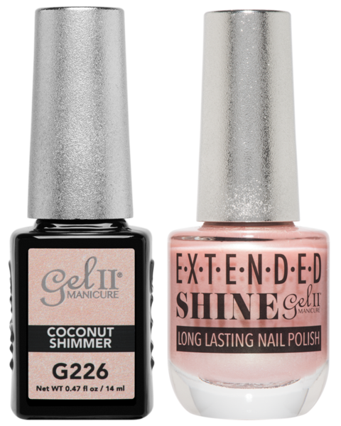 La Palm - ES226 Coconut Shimmer Gel II LONG LASTING NAIL POLISH