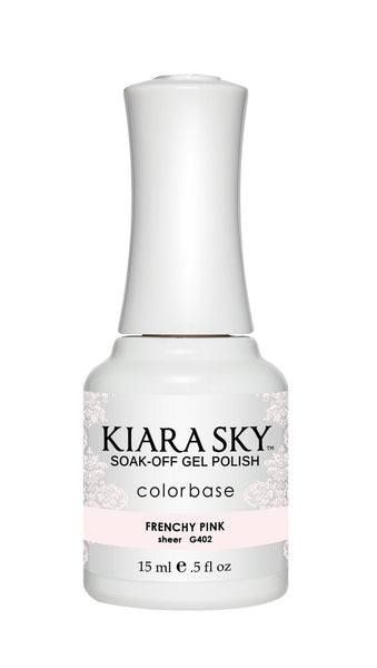 Kiara Sky Gel Polish - G402 FRENCHY PINK KS GEL POLISH