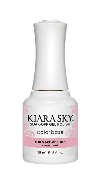 Kiara Sky Gel Polish - G405 YOU MAKE ME BLUSH KS GEL POLISH