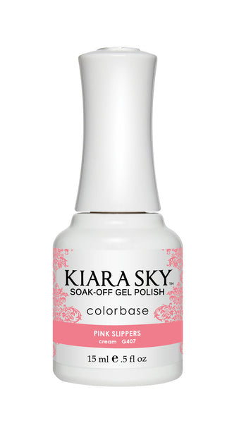 Kiara Sky Gel Polish - G407 PINK SLIPPERS KS GEL POLISH