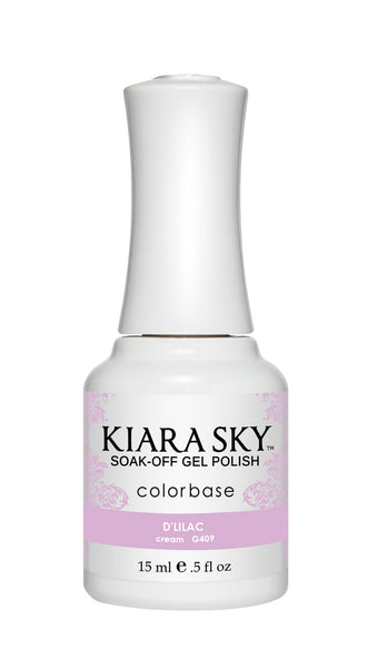 Kiara Sky Gel Polish - G409 D'LILAC KS GEL POLISH