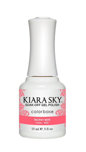 Kiara Sky Gel Polish - G421 TROPHY WIFE KS GEL POLISH