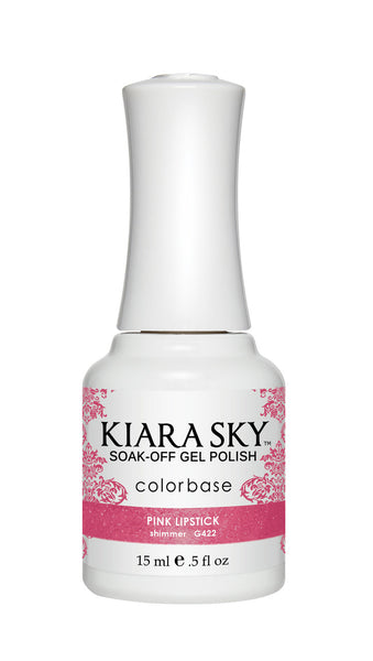 Kiara Sky Gel Polish - G422 PINK LIPSTICK KS GEL POLISH