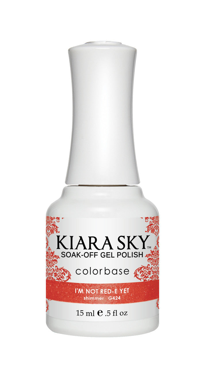 Kiara Sky Gel Polish - G424 I'M NOT RED-E YET KS GEL POLISH