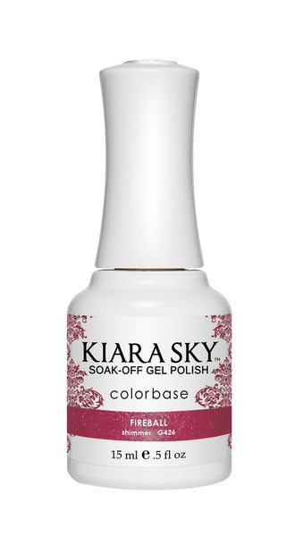 Kiara Sky Gel Polish - G426 FIREBALL KS GEL POLISH