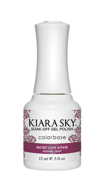 Kiara Sky Gel Polish - G429 SECRET LOVE AFFAIR KS GEL POLISH